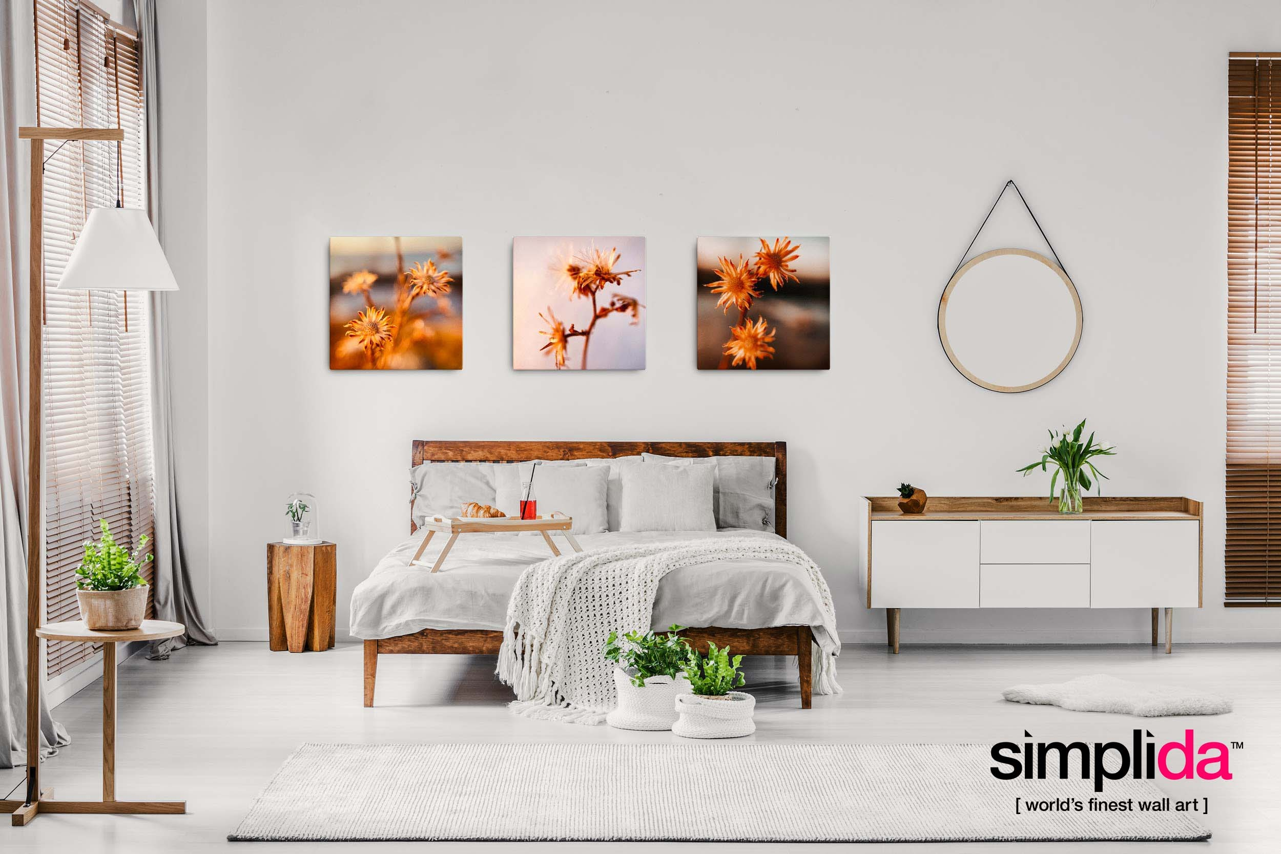 Wall Art Ideas for Your Bedroom – Fine Art Photography at Simplida.com