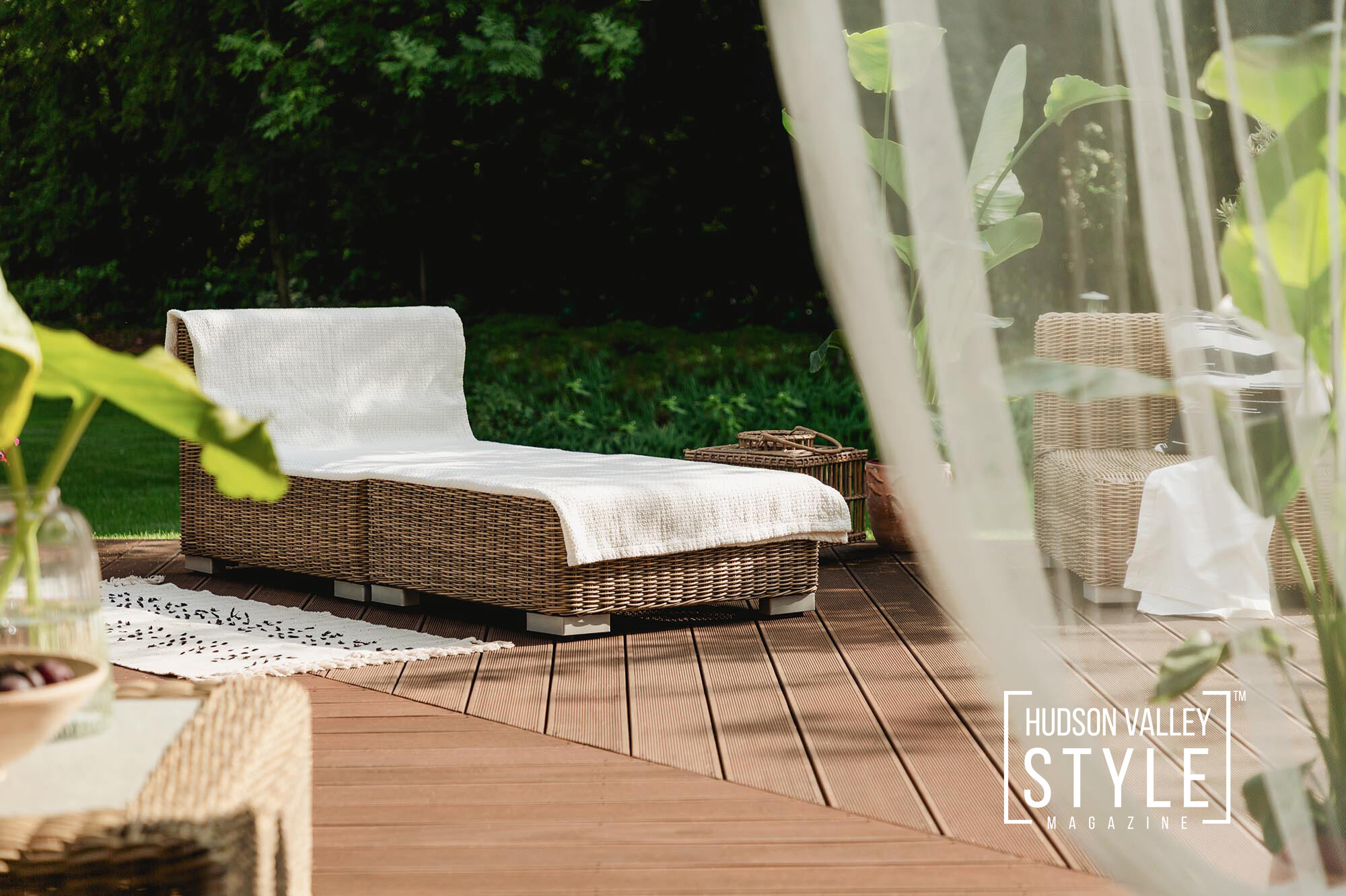 Create a Backyard Oasis to Enjoy Hudson Valley Staycation This Spring