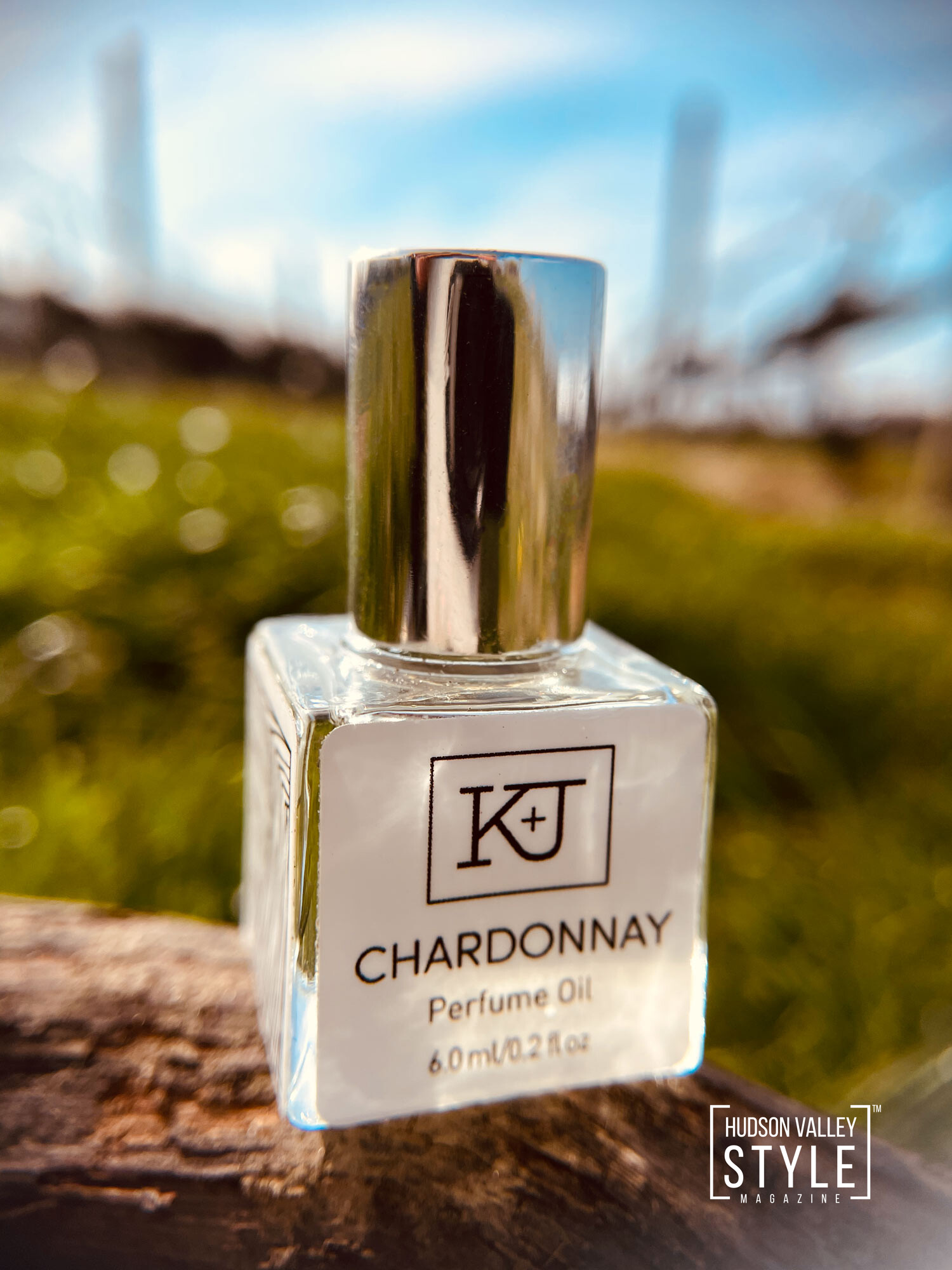 Notes fo Chardonnay Roll On Perfume by Kelly and Jones