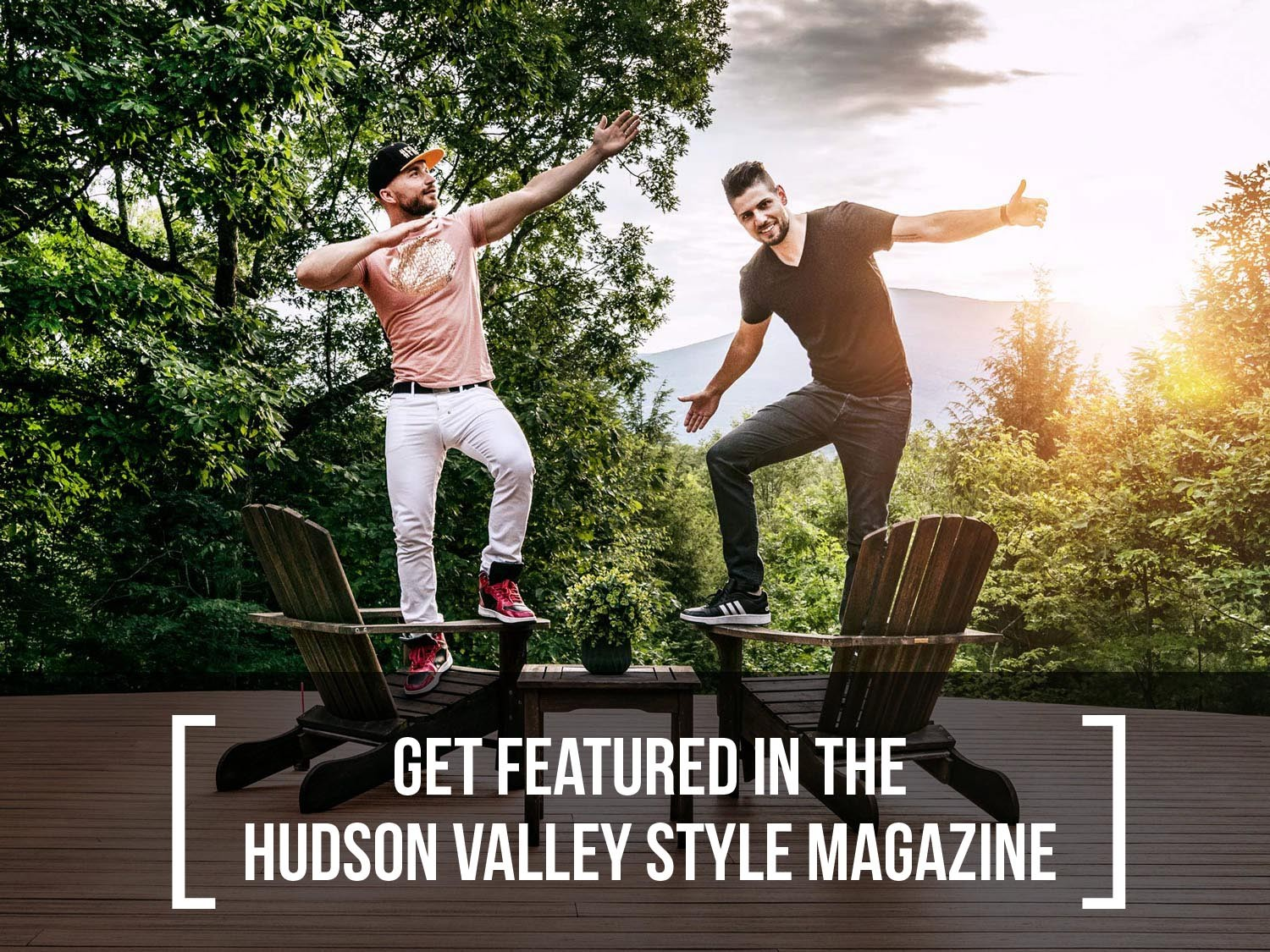 Exploring Hudson Valley with Max and Dino – Get featured in the Hudson Valley Style Magazine
