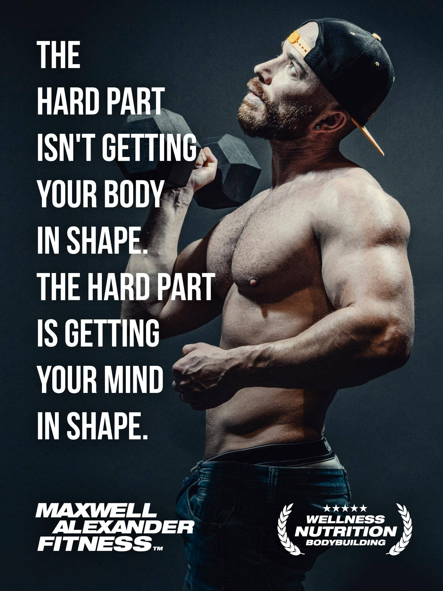 Fitness Motivation with Bodybuilding Coach Maxwell Alexander