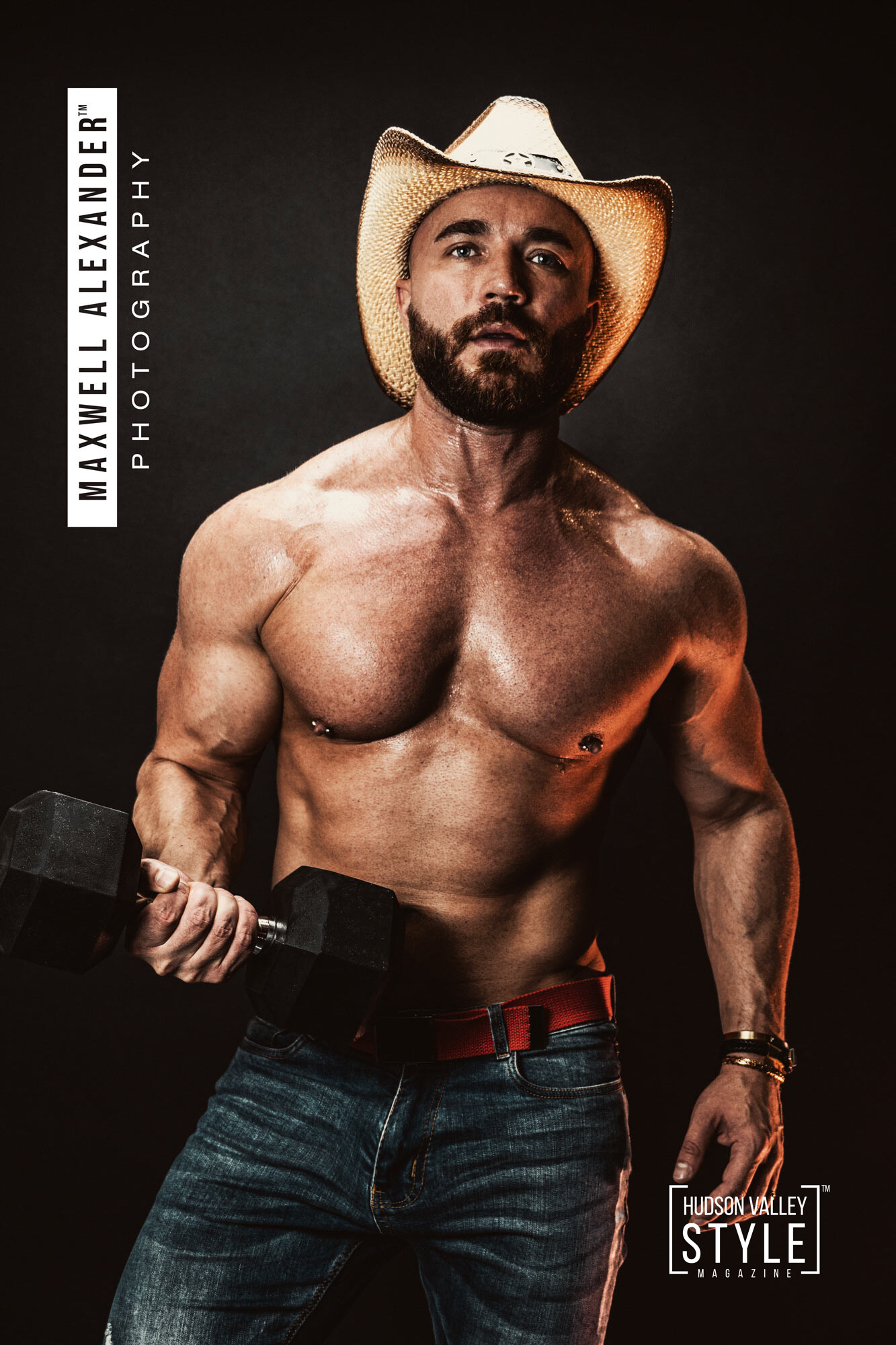 The Secrets of Natural Bodybuilding – New Book by Bodybuilding and Motivation Coach Maxwell Alexander, Fitness Model Maxwell Alexander – Fitness Photography by Duncan Avenue Studios, New York