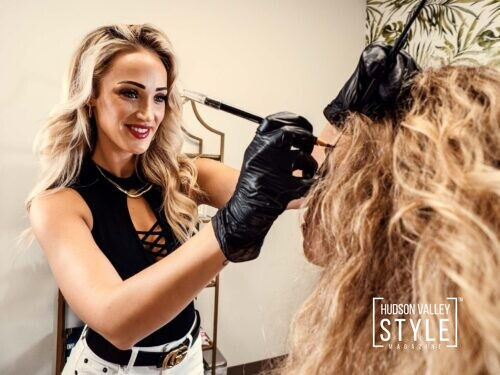Interview with the eyebrow sculpting master and beauty expert Chelsea Weyant – Hudson Valley beauty with Dino Alexander