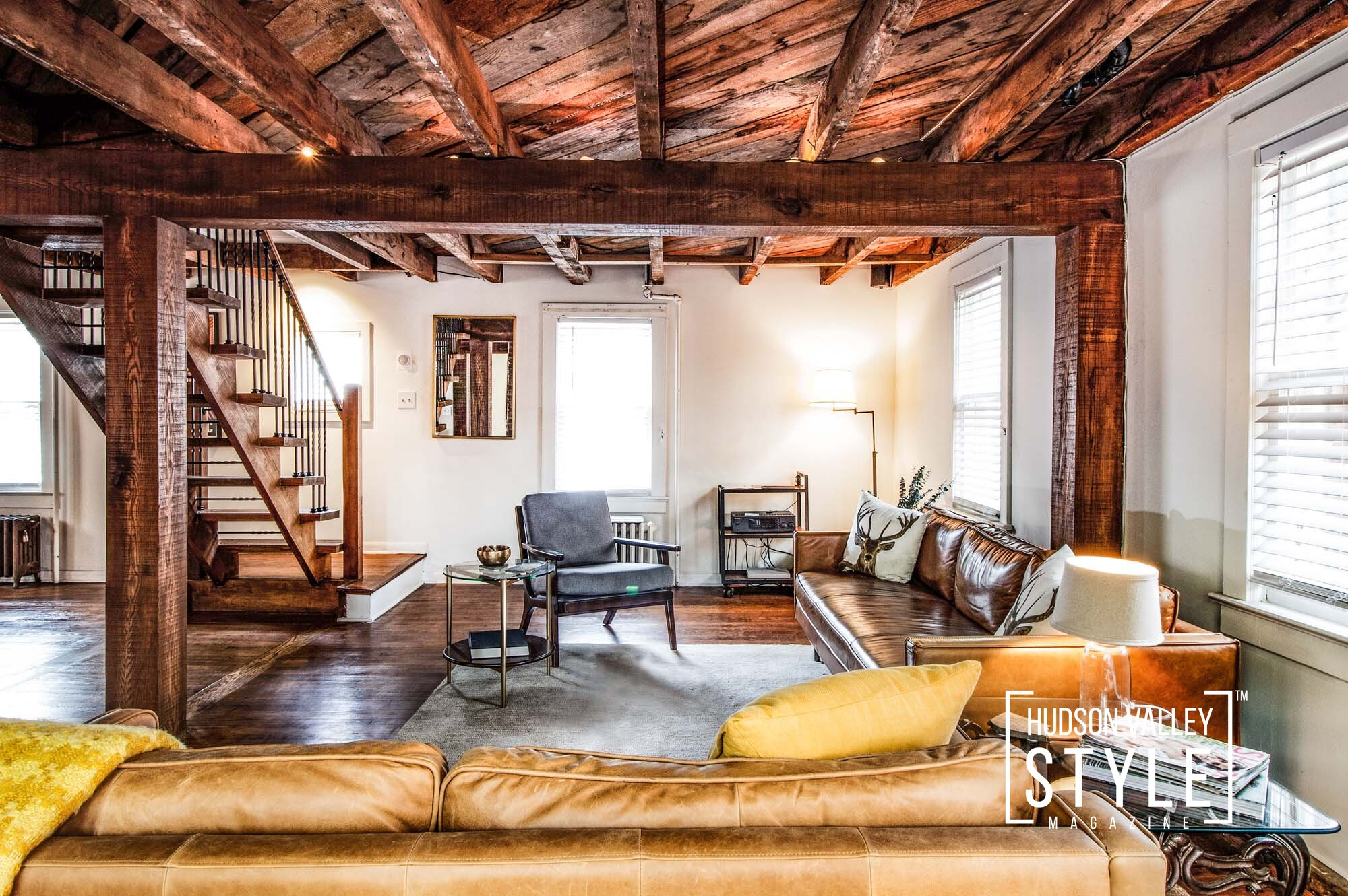 Woodstock, NY Airbnb Listing Photography by Duncan Avenue Studios – Hudson Valley Real Estate Photography