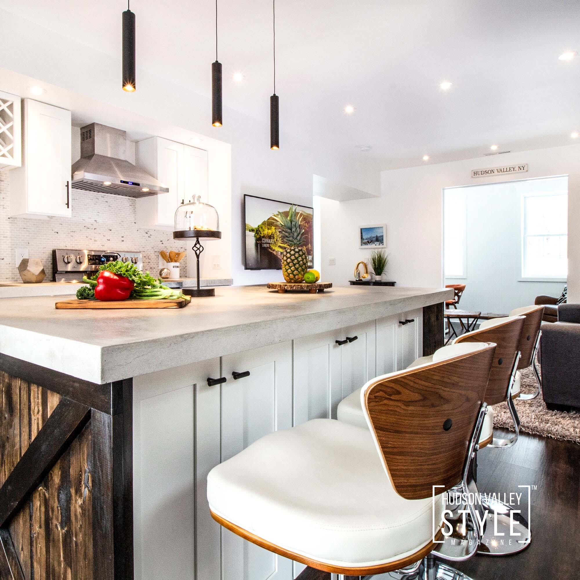 Victorian Home Renovation in Cornwall on Hudson, NY – Interior Design and Real Estate Photography Project