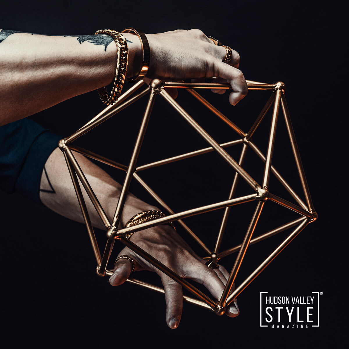 The Best Way to Wear Men's Bracelets – Presented by HARD NEW YORK Men's Fashion Accessories – Fashion Photography by Duncan Avenue Studios