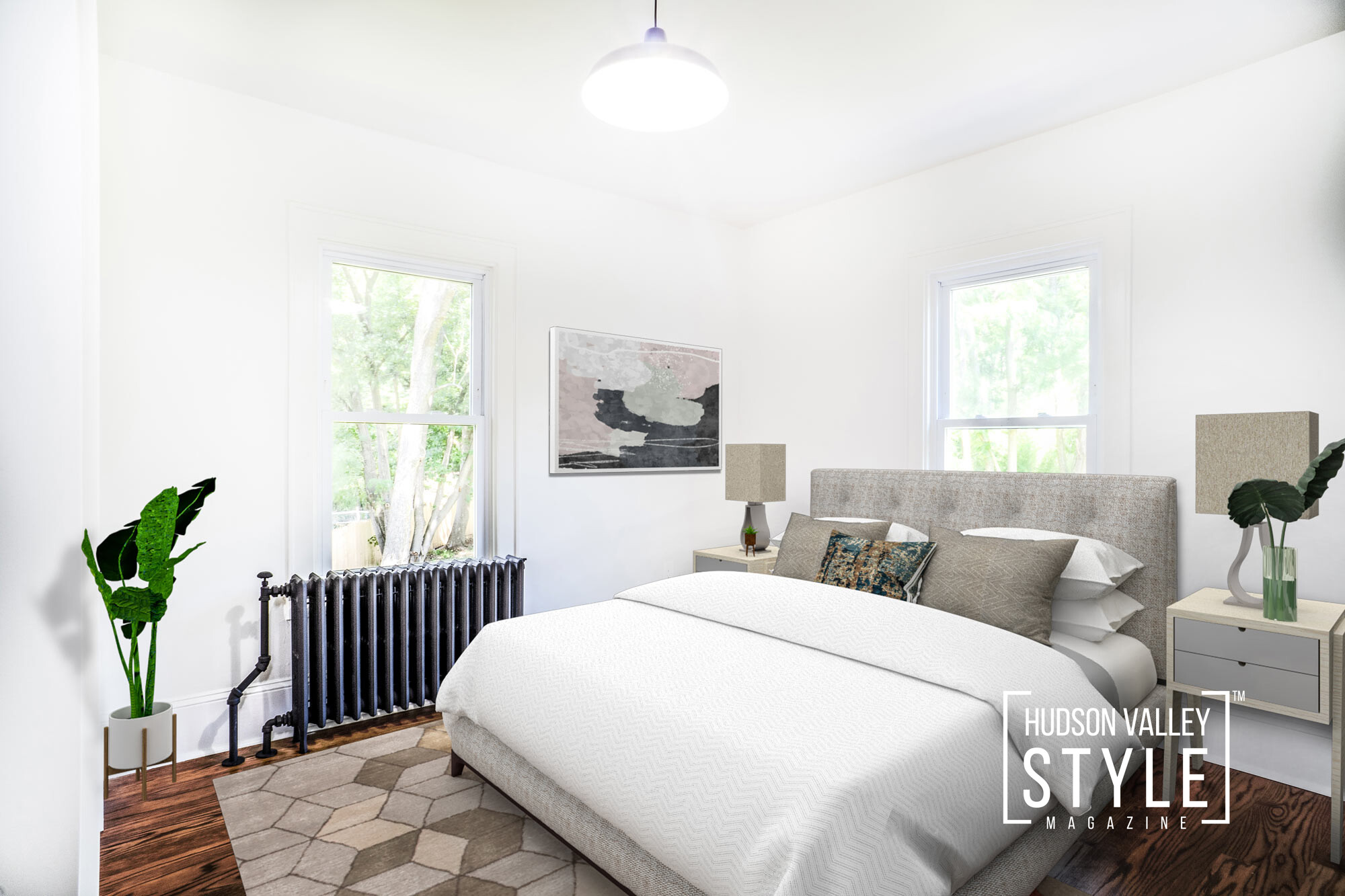 Beautifully Renovated Hudson Valley Farmhouse in Fishkill, NY – Real Estate Photography and Virtual Home Staging by Duncan Avenue Studios