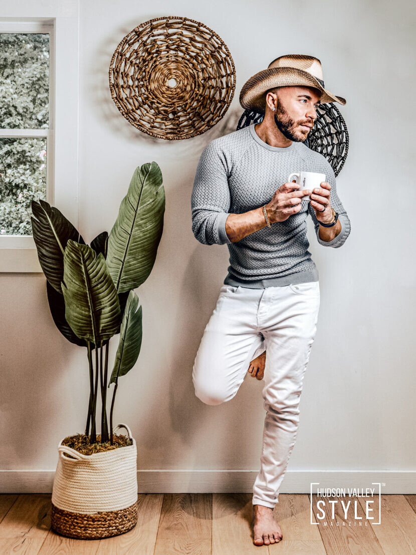 Working from Home: Managing Stress with Ease – by Fitness and Wellness Coach Maxwell Alexander – Lifestyle Photography by Duncan Avenue Studios, New York