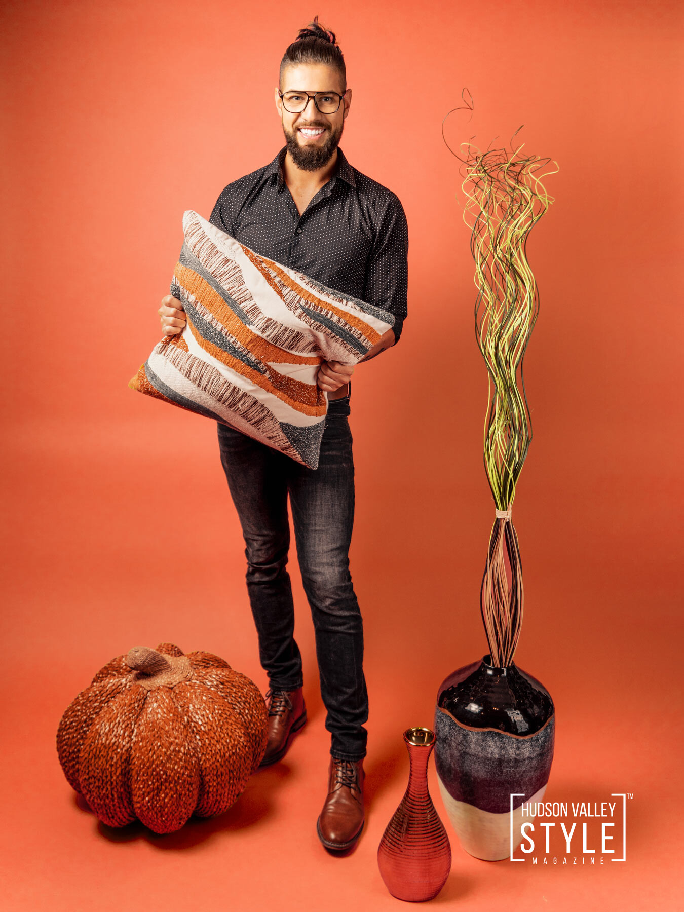 Beautify Your Hudson Valley Living with Fresh Fall Decorating Ideas – with Dino Alexander – Portrait Lifestyle Photography by Duncan Avenue Studios