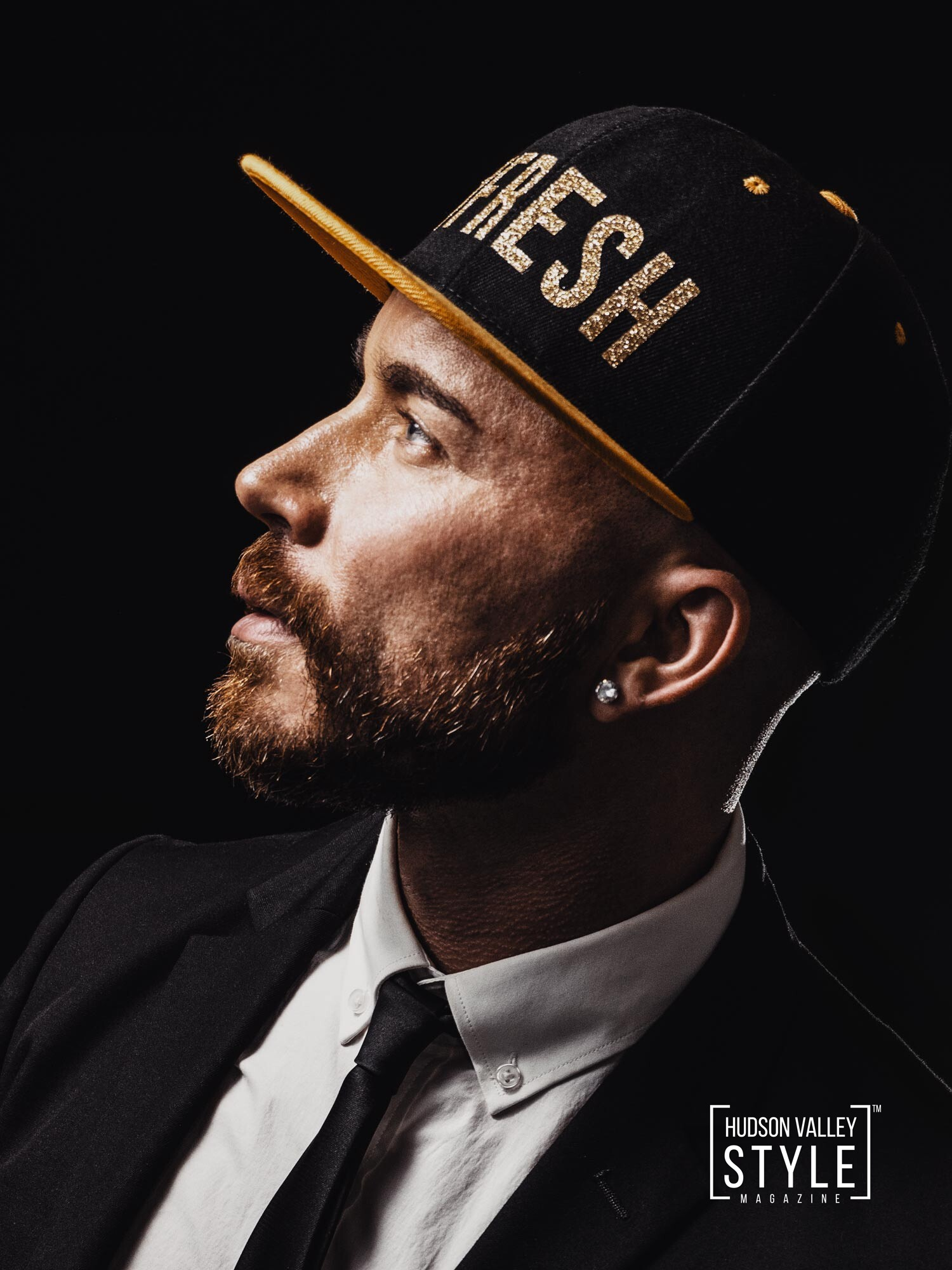 The Original #FRESH Gold Snapback Hat by Maxwell Alexander – Gift Guide