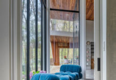 Escape New York City life in this tranquil Hudson Valley Style retreat created by HUDSON DESIGN