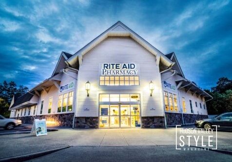 Rite Aid Hudson Valley – Twilight Photography – Commercial Real Estate Photography Project by Duncan Avenue Studios – Hudson Valley, Catskills, and Westchester, New York